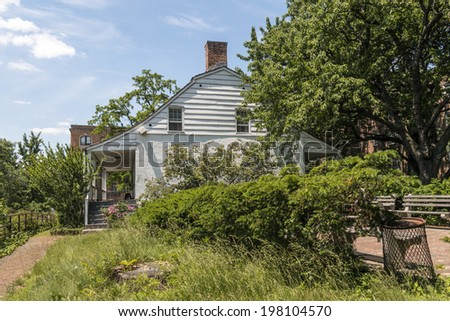 Dyckman House - Manhattan, New York City - stock photo