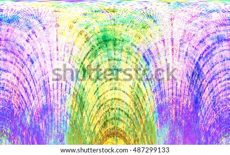 Dyed pattern on material abstract background. Modern futuristic painted wall for backdrop or wallpaper with copy space. Close up image