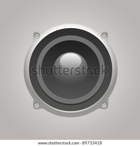 dynamic isolated on gray background - stock photo