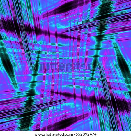 Dynamic purple and blue light streaks background