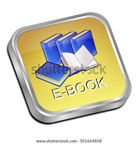 E-Book Button - stock photo