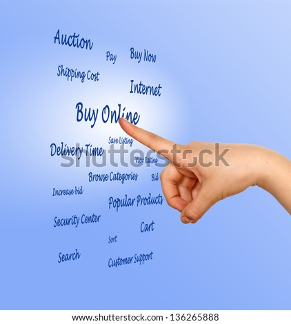E-business - stock photo