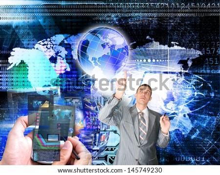 E-business - stock photo
