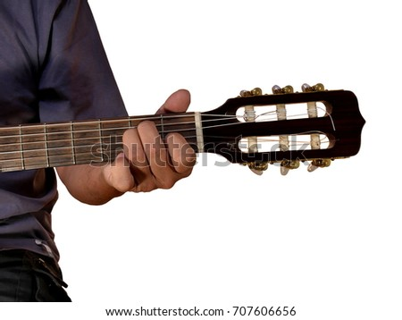 E Chord Acoustic Guitar Stock Photo Edit Now Shutterstock
