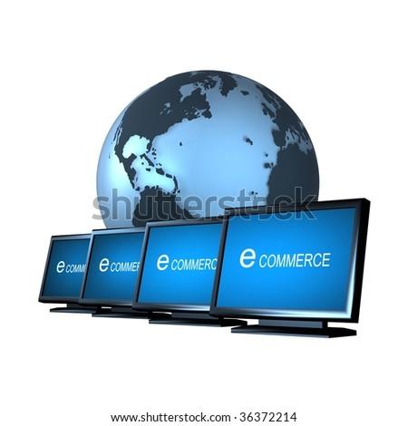 e-commerce 2 - stock photo