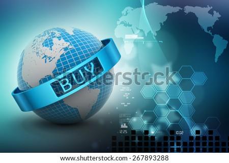 e-commerce concept - stock photo