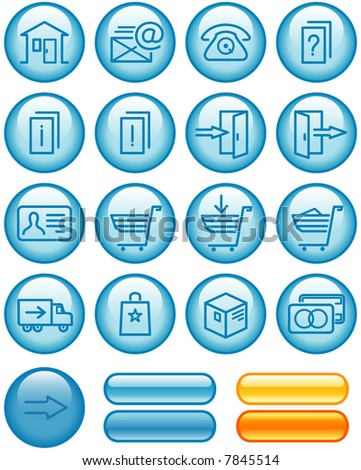 E-Commerce Icons Set (If you need this set in vector format - you'll find it in my portfolio)