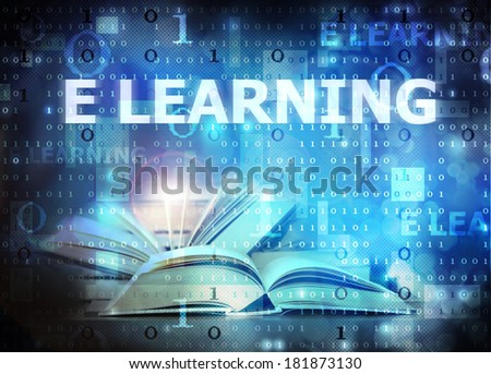 e learning - stock photo