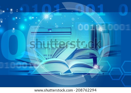 e learning - stock photo
