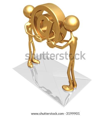 E-Mail Concept - stock photo