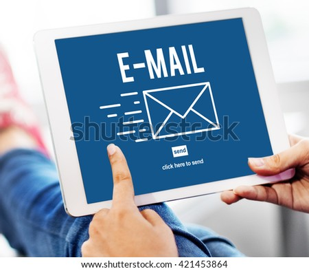 E-mail Correspondence Envelope Message Deliver Concept