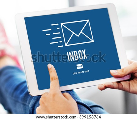 E-mail Correspondence Envelope Message Inbox Concept
