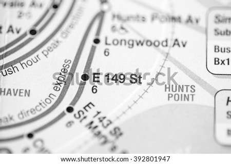 E 149 St. Lexington Av/Pelham Express Line. NYC. USA
