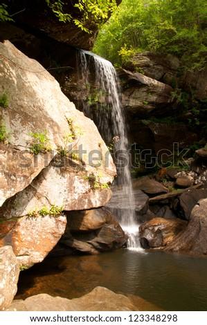 Eagle Falls - stock photo