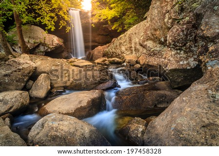 Eagle Falls, Kentucky - stock photo