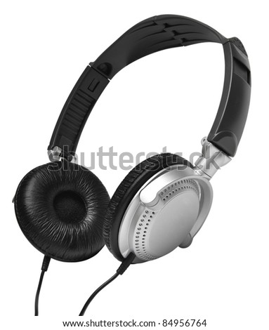 Ear-phones  isolated on a white background