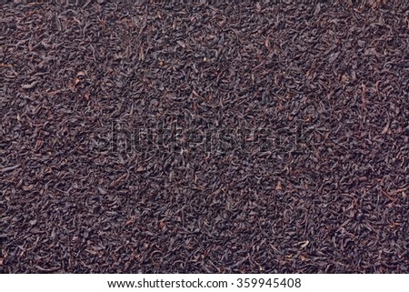 Earl Grey , Black tea - stock photo