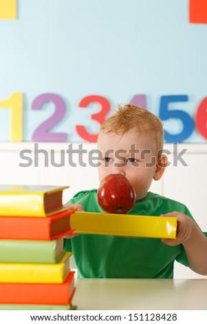 early development of Preschooler - stock photo