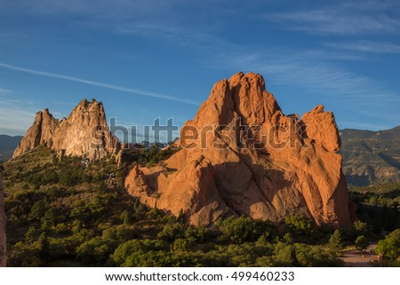 Early Morning at Garden of the Gods