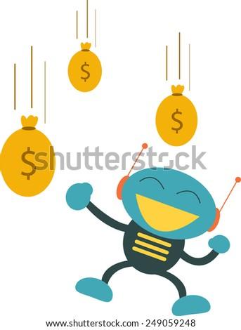 earning - stock photo