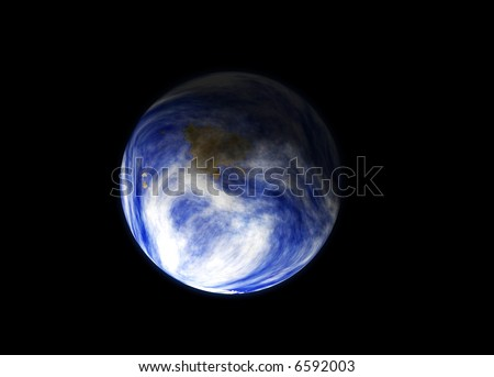 Earth as seen space