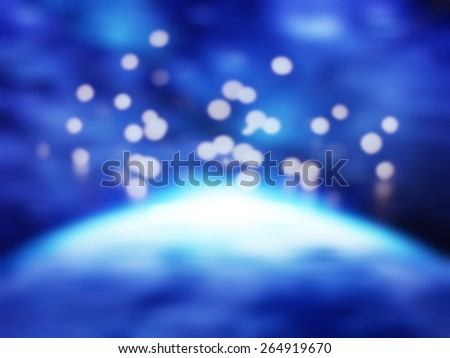 Earth at night with city lights,abstract blur background for web design,colorful, blurred,texture, wallpaper,illustration - stock photo