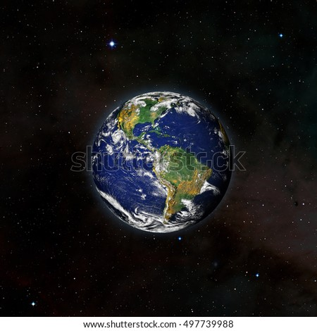 View earth outer space millions stars stock photo for Outer space elements