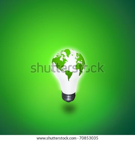 Earth Light - stock photo