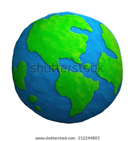 earth made of clay