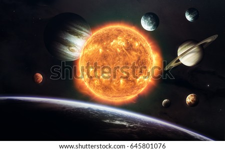 Earth Mars And Others Science Fiction Space Wallpaper Incredibly Beautiful Planets Of
