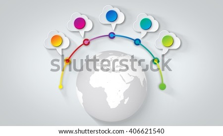 earth statistics tags abstract design