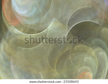 Earth tones watercolor abstract background