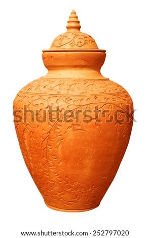 earthenware - stock photo