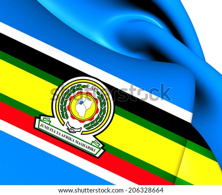 East African Community Coat of Arms East African Community Flag
