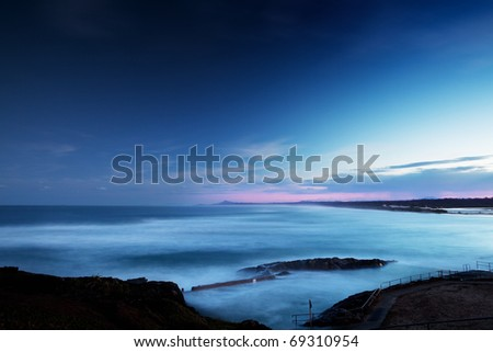 East Australian Coastline - stock photo