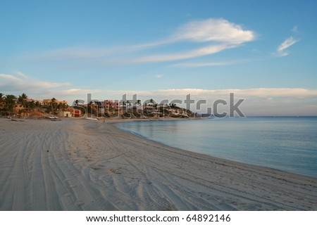 East Cape Baja California Sur Mexico - stock photo