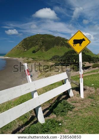 East Cape, New Zealand - stock photo