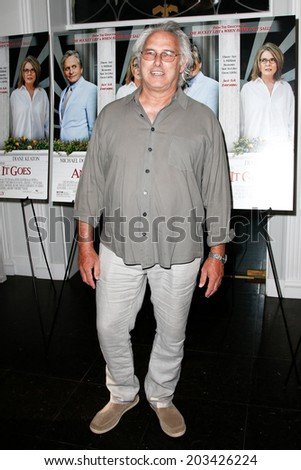 "EAST HAMPTON, NEW YORK-JULY 6: Painter Eric Fischl attends the premiere of ""And So It Goes"" at Guild Hall on July 6, 2014 in East Hampton, New York."