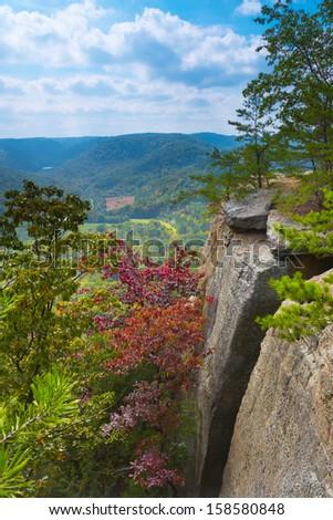 East Pinnacle Lookout - stock photo