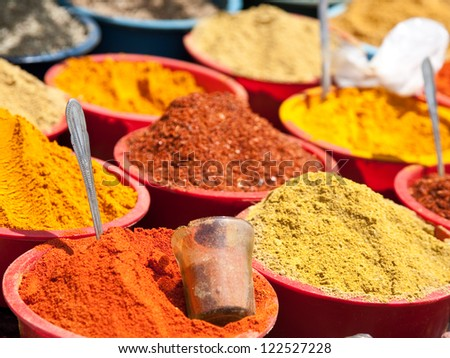 East spices - stock photo