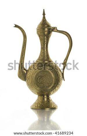 East teapot, manual work - stock photo