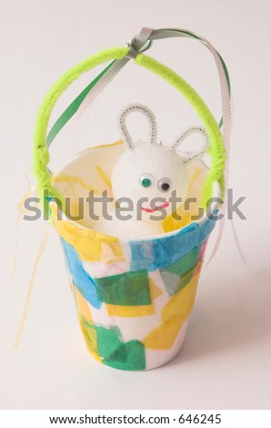 Easter Arts and Crafts - stock photo