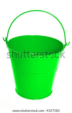 easter bucket for hunting eggs