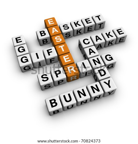 easter (3D crossword orange series)