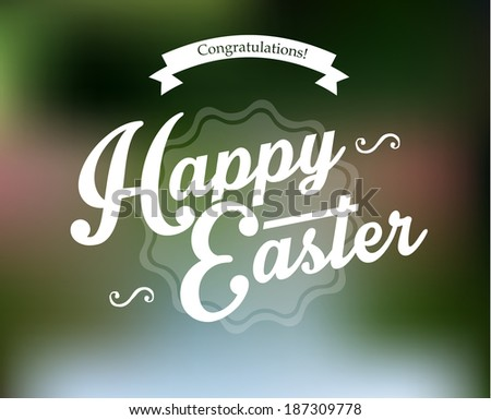 Easter designs - stock photo