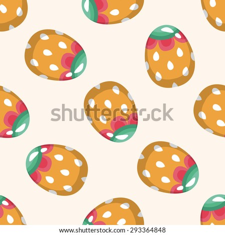 easter egg 10, cartoon seamless pattern background