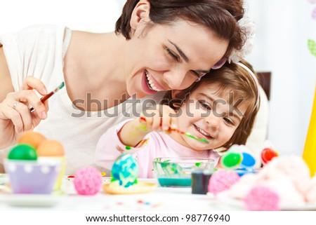 Easter fun and joy - stock photo