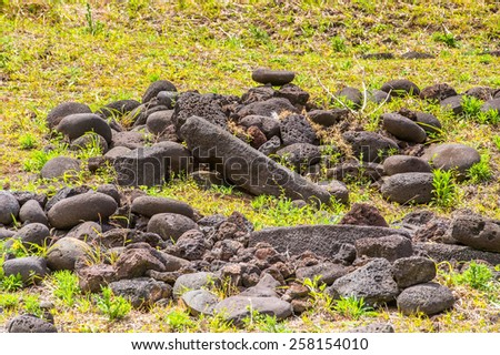 Easter Island, Chile - stock photo