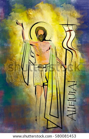 Risen Christ Stock Images, Royalty-Free Images & Vectors ...