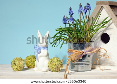 Easter still life - stock photo